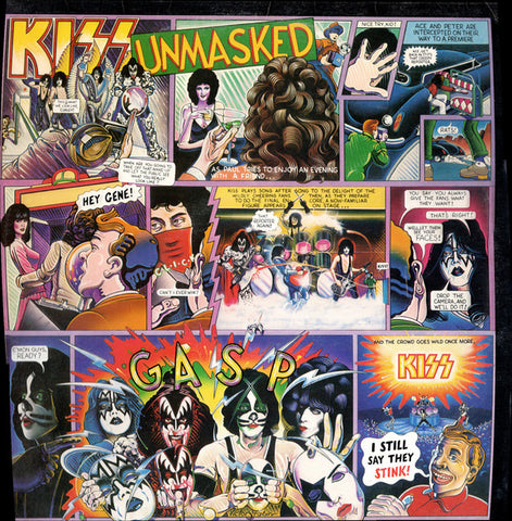 Kiss - Unmasked (VINYL SECOND-HAND)