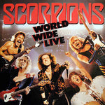 Scorpions - World Wide Live (2LP, USED VINYL SECOND-HAND)