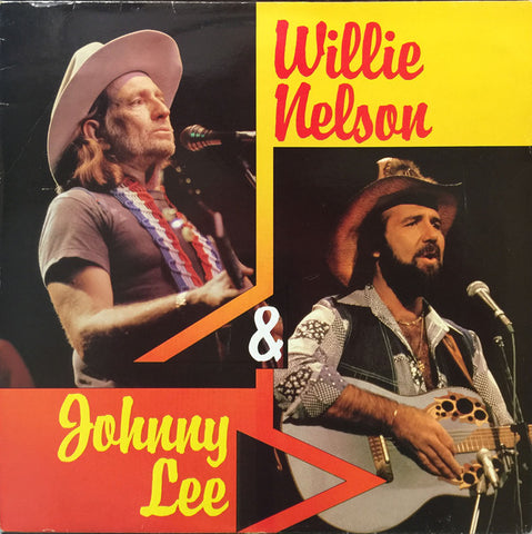 Willie Nelson & Johnny Lee - Willie Nelson & Johnny Lee (VINYL SECOND-HAND)