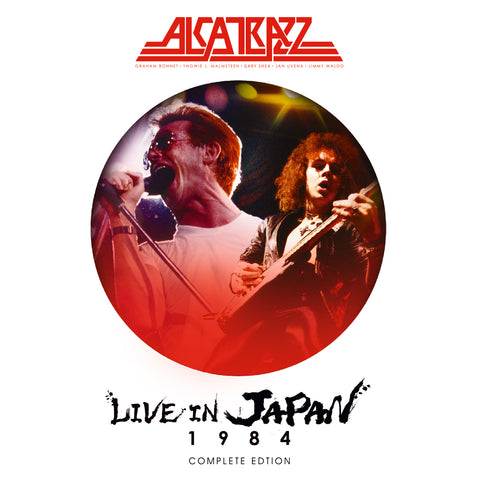 Alcatrazz - Live In Japan 1984 - The Complete Edition(BLU-RAY+2CD)