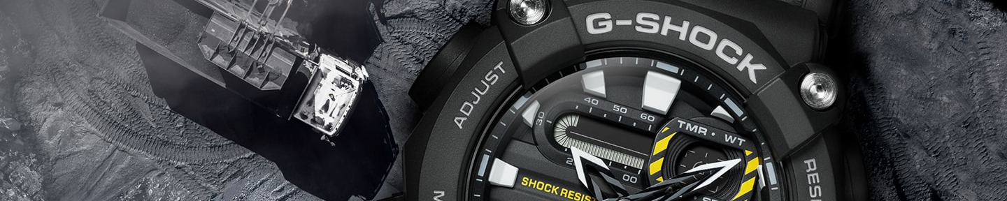 Casio G-Shock watch collection at Time Machine Plus