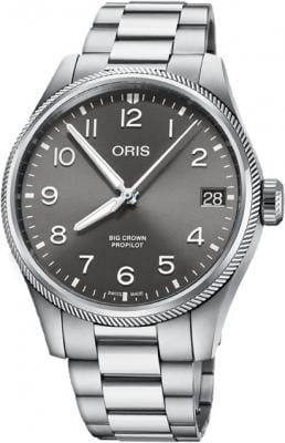 Oris Big Crown ProPilot Big Date 41mm Stainless Steel Men's Watch 01 751 7761 4063-07 8 20 08P