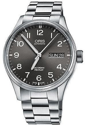 Oris Big Crown ProPilot Big Day Date Steel Strap Men's Watch 01 752 7760 4063-07 8 22 08P