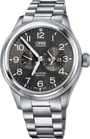 Oris Big Crown ProPilot WorldTimer Metal Bracelet Men's Watch 01 690 7735 4063-07 8 22 19-1