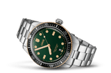 Oris Divers Sixty-Five Bronze Green Dial Steel Strap Men's Watch 01 733 7707 4357-07 8 20 18