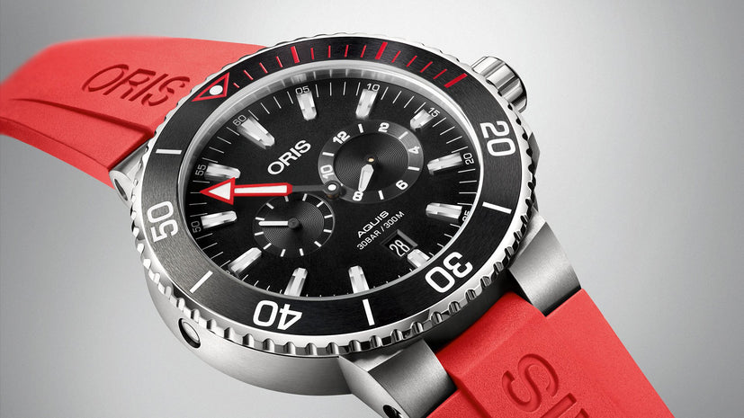Oris Aquis Regulateur Der Meistertaucher Titanium Men's Diving Watch 01 749 7734 7154-Set