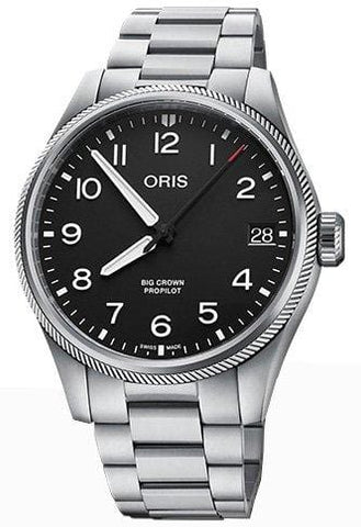 Oris Big Crown ProPilot Big Date 41mm Black Dial Men's Watch 01 751 7761 4164-07 8 20 08