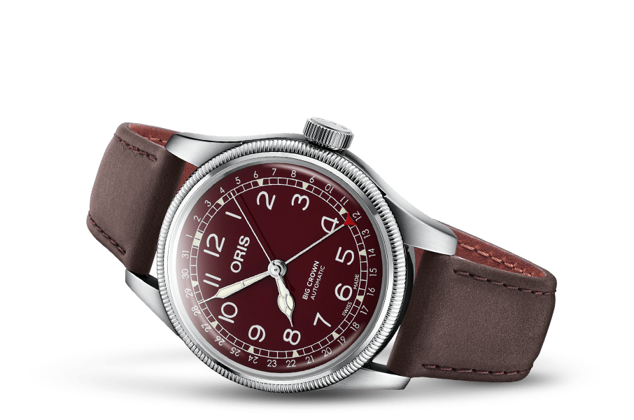 Oris Big Crown Pointer Date Red Dial Men's Watch 01 754 7741 4068-07 5 20 64