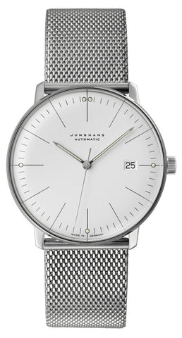 Junghans Max Bill Automatic 38mm Stainless Steel Men's Watch 027/4002.44