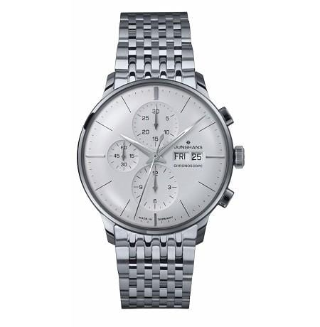 Junghans Meister Chronoscope Automatic Silver Dial Men's Watch 027/4121.45