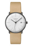 Junghans Max Bill Automatic 38mm White Dial Black PVD Men's Watch 027/4000.04