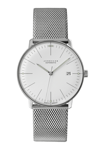 Junghans Max Bill Automatic 38mm Mesh Strap Sapphire Crystal Men's Watch 027/4002.46