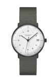 Junghans Max Bill Kleine Automatic 34mm Textile Strap Unisex Watch 027/4005.04