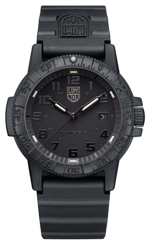 Luminox Leatherback SEA Turtle Giant Black Rubber Strap Men's Watch XS.0321.BO.L
