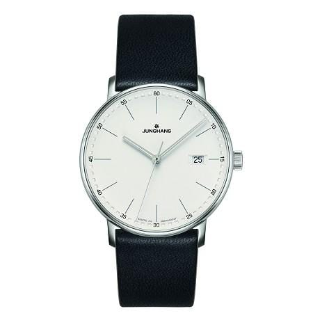 Junghans Form Quartz 39mm Silver Dial Men's Watch 041/4884.00