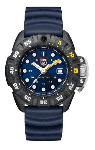 Luminox Scott Cassell Deep Dive Dark Blue Dial Men's Watch XS.1553