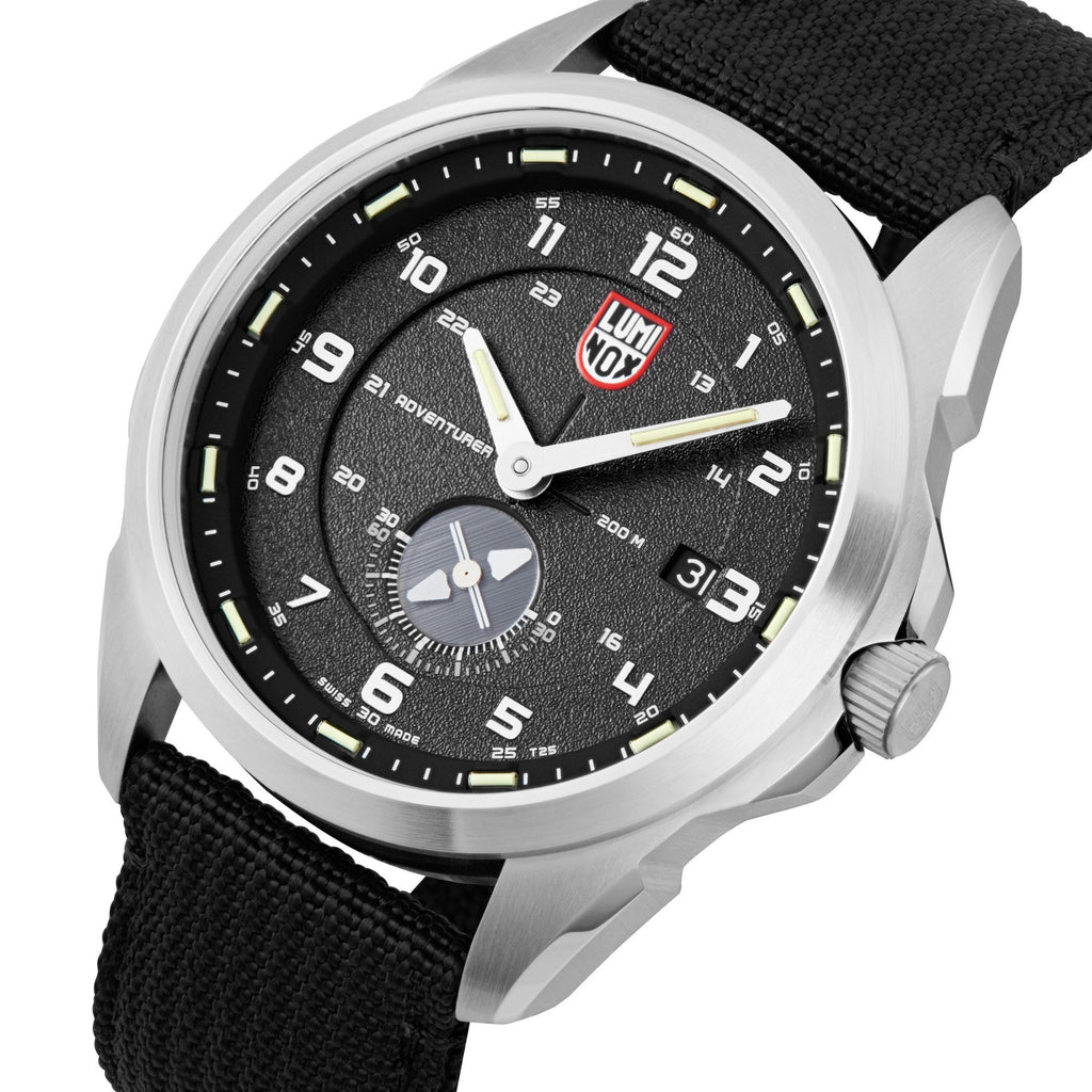 Luminox Atacama Adventurer Black Nylon Strap Black Dial Men's Watch XL.1761