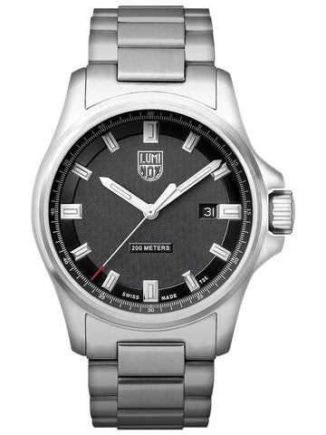 Luminox Dress Field 1832 Stainless Steel Black Dial Men's Watch XL.1832