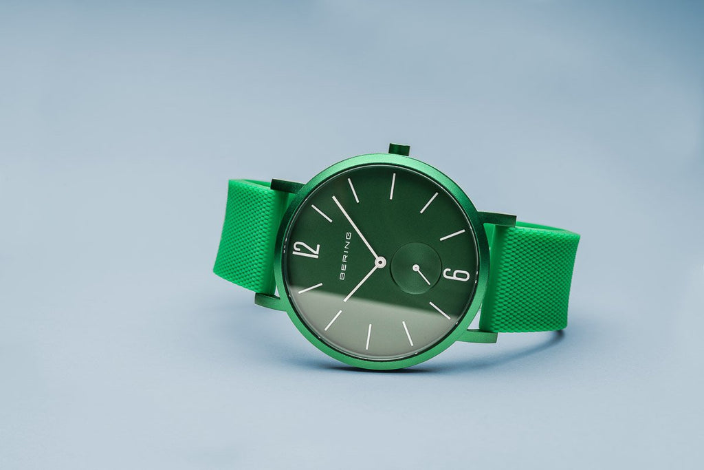 BERING True Aurora Matte Green 40mm Unisex Watch 16940-899