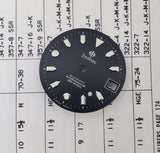 Vintage Zodiac Silver Dot Automatic 26.5mm Black Dial 206.19.34