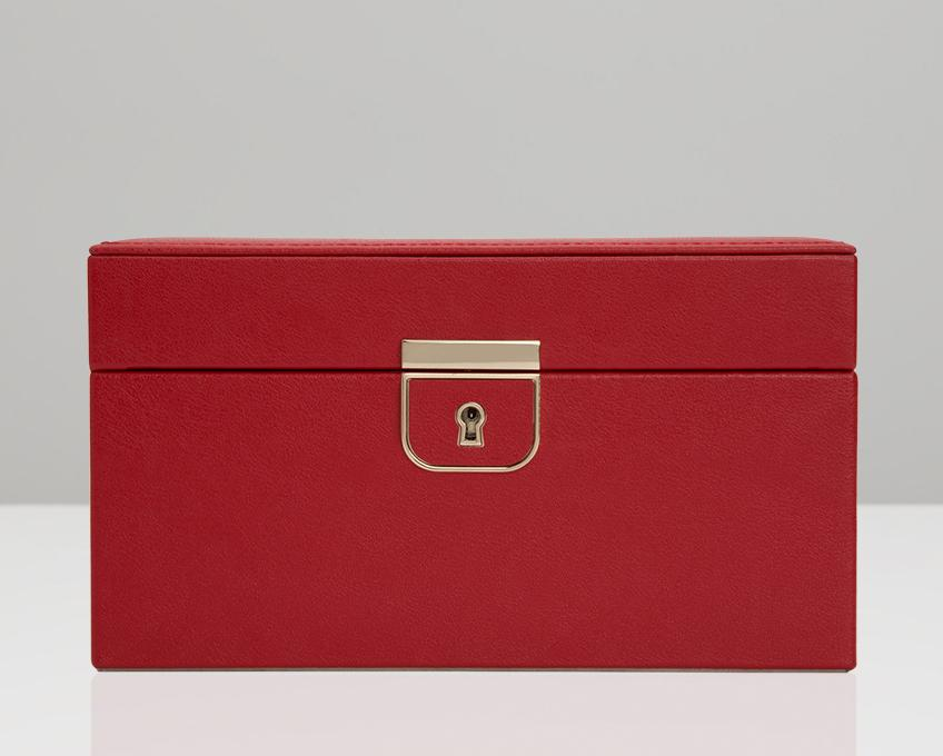 WOLF Palermo Red Small Jewelry Case 213172