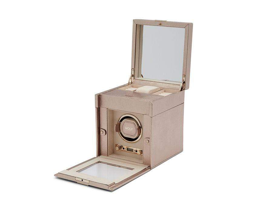 WOLF Palermo Single Watch Winder Rose Gold 213716