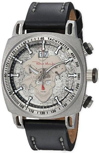Ritmo Mundo Racer Limited Edition Pirate Dial Men's Watch 2221/15 Silver Pirate
