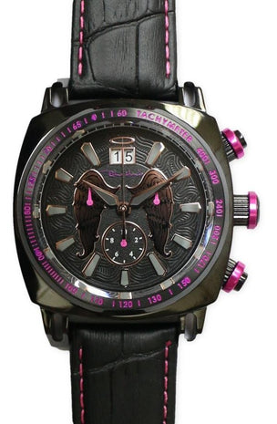 Ritmo Mundo Racer Limited Edition Chronograph Black Wings Men's Watch 2221/19 Black Wings