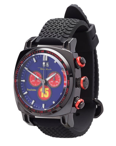 Ritmo Mundo Racer Limited Edition Paulinho Swiss Chronograph Men's Watch 2221/Paulinho