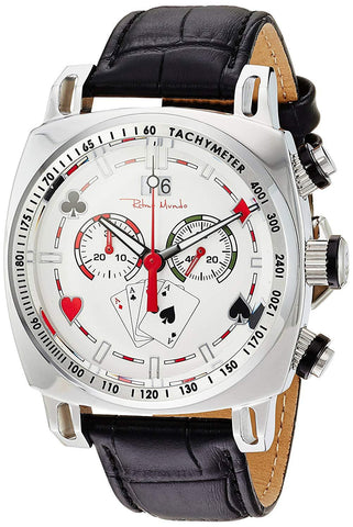 Ritmo Mundo Racer Limited Edition Casino White Dial Men's Watch 2221/12 White Casino