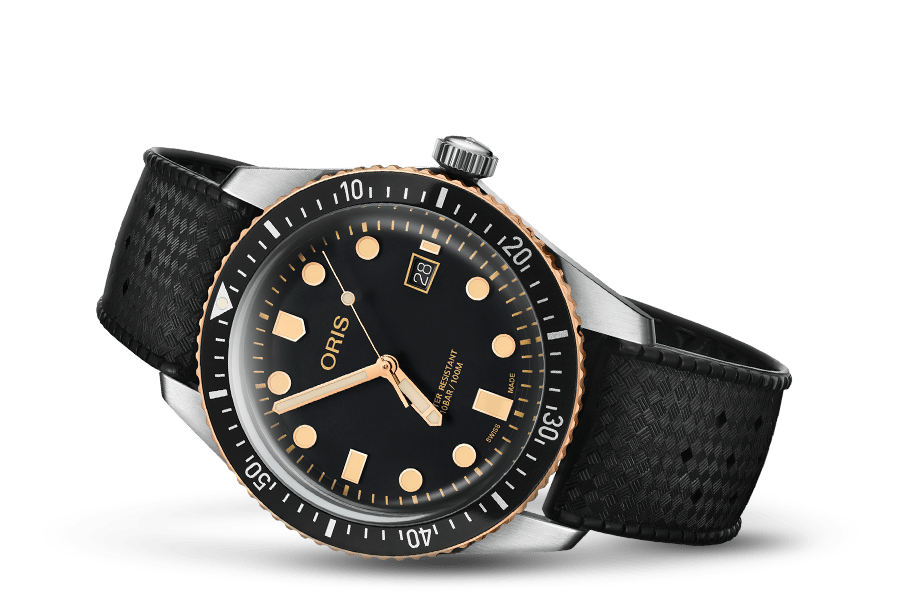 Oris Divers Sixty-Five Bronze Black Rubber Strap 42mm Men's Watch 01 733 7720 4354-07 4 21 18