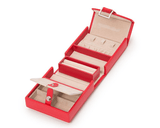 WOLF Heritage Fold-Out Jewelry Box Red 281214