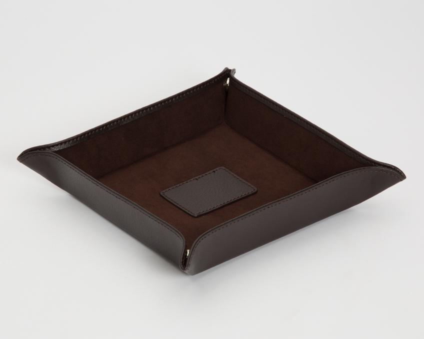 WOLF Blake Coin Tray Brown 305706