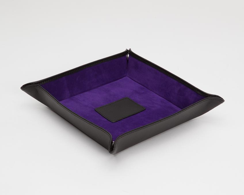 WOLF Blake Coin Tray Black-Purple 305728