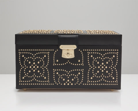 WOLF 308102 Marrakesh Medium Jewelry Box Black