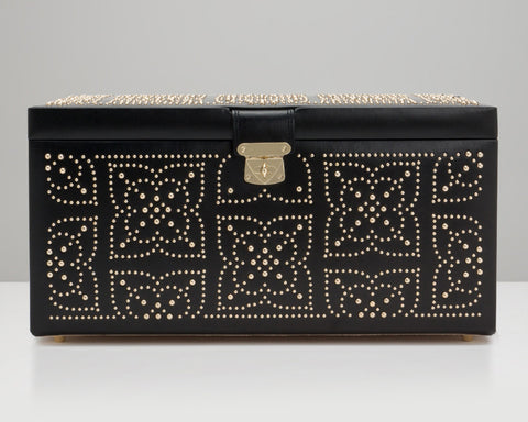 WOLF 308202 Marrakesh Large Jewelry Box Black