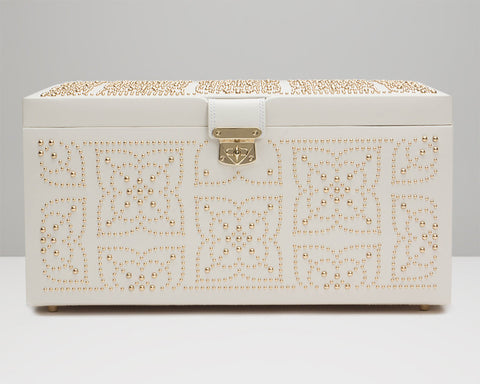 WOLF 308253 Marrakesh Large Jewelry Box Cream