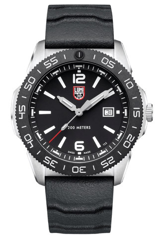 Luminox Pacific Diver Black Dial Black Rubber Strap Men's Watch XS.3121