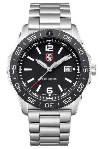 Luminox Pacific Diver Black Dial Stainless Steel Men's Watch XS.3122