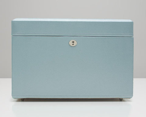 WOLF 315124 London Ice Blue Medium Jewelry Box