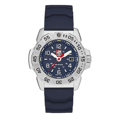 Luminox Navy SEAL Steel Blue Rubber Strap Men's Watch XS.3253