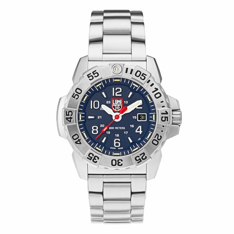Luminox Navy SEAL Steel Strap Blue Dial Men's Watch XS.3254