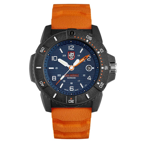 Luminox Sea Series Navy SEAL Carbonox Orange Rubber Strap Men's Watch XS.3603