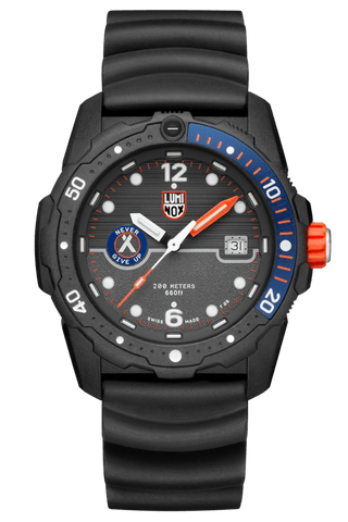 Luminox Bear Grylls Survival SEA Series Black-Blue Men's Watch XB.3723