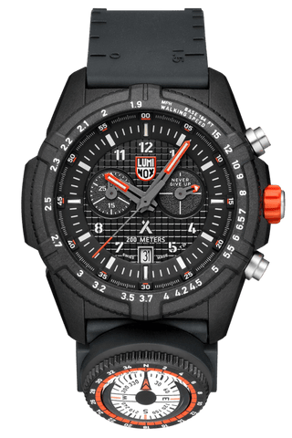 Luminox Bear Grylls Survival LAND Series Black-Orange Men's Watch XB.3782.MI