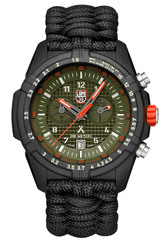 Luminox Bear Grylls Survival LAND Series Black-Green Men's Watch XB.3798.MI
