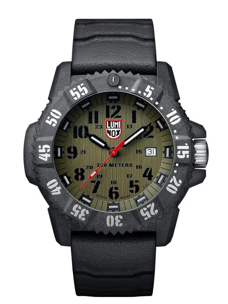 Luminox Master Carbon SEAL Carbon Case Green Dial Men's Watch XS.3813.L