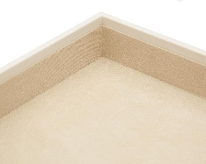 "WOLF Vault 1.5"" Standard Tray Ivory Leather 435153"