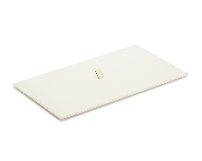 WOLF Vault Tray Lid Ivory Leather Finish 434953