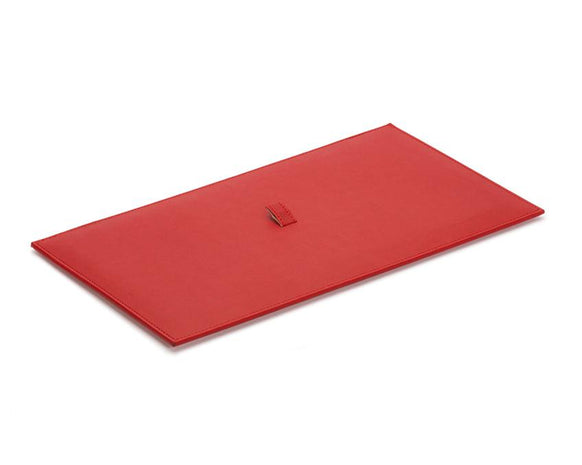 WOLF Vault Tray Lid Red Leather Finish 434972